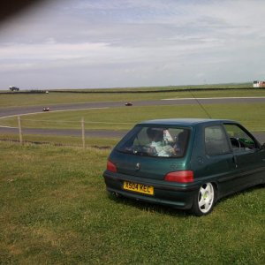 my first car. 1,1 106 at anglesey